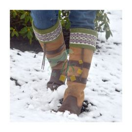 Stiefelsocken - LADY FAIRISLE