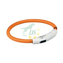 USB Flash Leuchtring orange