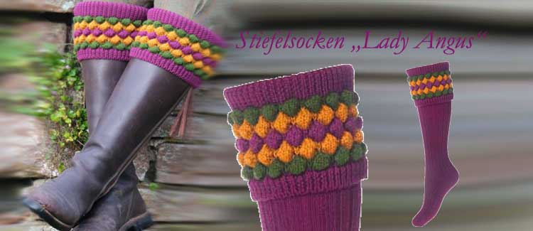 Stiefelsocken Lady ANGUS